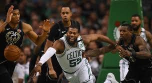 milwaukee bucks fan pack drama builds as celtics rout bucks for 2 0 series lead boston herald