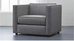 Club Chair Grey Club Chair Reviews Cb2