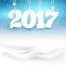 happy new year backdrop happy new year background with hanging numbers in a snowy
