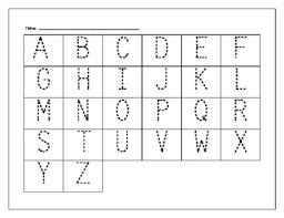 printables pre k alphabet tracing worksheets ronleyba worksheets