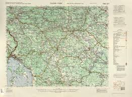 Zagreb Map Central Europe Roads Ams Topographic Maps Perry Castañeda Map
