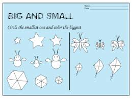 size differential worksheets