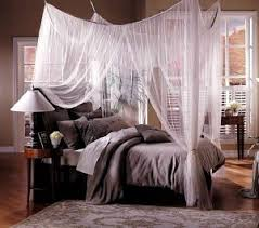 Sheer Bed Canopy Mombasa Majesty Four Point Bed Canopy