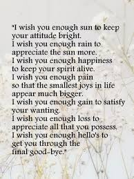 image result for i wish you enough poem inspiration