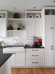 how to make cabinets go to ceiling home dzine kitchen use the space on top of kitchen cabinets