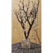 manzanita tree centerpiece sale bling manzanita tree centerpiece color with glitter