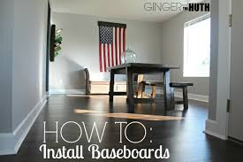 How Tall Should Baseboards Be First Floor Remodel Update How To Install Baseboards