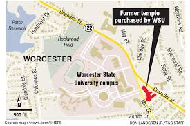 Wsu Campus Map Report Investigates Potential Uses Of Worcester State U0027s May Street