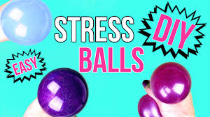 diy crafts how to make a squishy stress ball easy u0026 cool diy