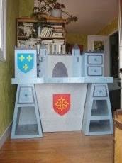 alter bureau bureau château fort réalisé en alter cartonniste un peu