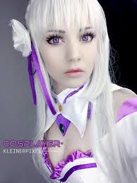 subaru and emilia cosplay re zero emilia explore re zero emilia on deviantart