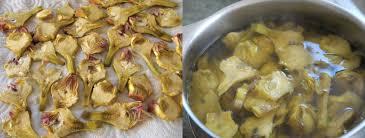 comment cuisiner les artichauts violets artichauts petits violets marinés cuisinons les legumes
