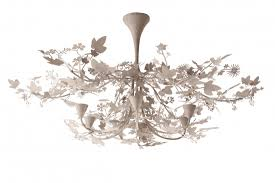 Tord Boontje Chandelier Large Shadow Chandelier Mcl37l Ceiling Lights Ceiling
