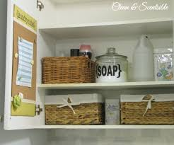 laundry room organization clean and scentsible