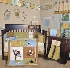 Deer Crib Bedding Shocking Decorating Ideas Using Rectangular Brown Wooden Cribs In