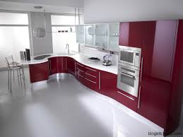 Red Kitchen Walls With White Cabinets by Red Kitchen Cabinets Modern Kitchen Design Kitchen Design Ideas