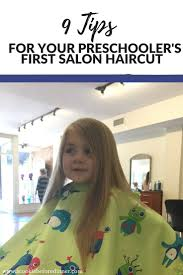 tips for your preschool u0027s first salon haircut l a cookie