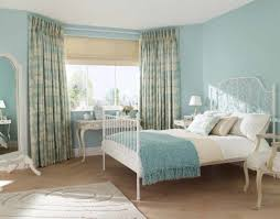 bedroom decor area rug painted wall country bedroom console blue