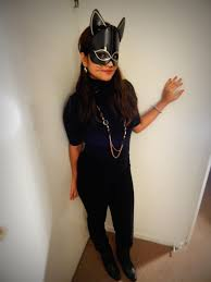 catwoman halloween costume mask catwoman halloween makeup diy sfdesigirl talks