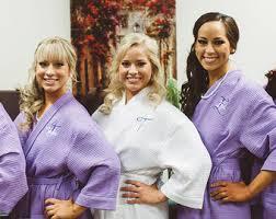 waffle robes for bridesmaids monogram waffle robes set of 12 bridal robes