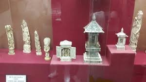 Silver Items Silver Items With Ivory Picture Of Salar Jung Museum Hyderabad