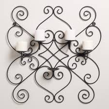 wrought iron wall sconces candle wall sconces wrought iron