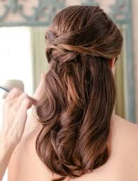 wedding hairstyles for medium length hair half up wedding hairstyles medium length hair half up hairstyle foк