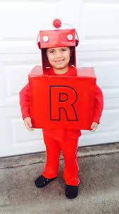 Kids Robot Halloween Costume Letterland Red Robot Costume Crafts Kids