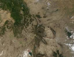 Wildfire From Space by Nasa Visible Earth Fires In Montana And Wyoming