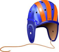 clipart 1940 u0027s leather football helmet