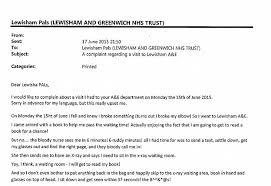 Complaints Letter To Hospital letter of complaint template nhs vgmb co