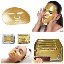 Collagen Mask 24k gold mask collagen hyaluronic acid eye neck lip