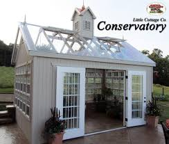 the conservatory greenhouse from little cottage company can make a