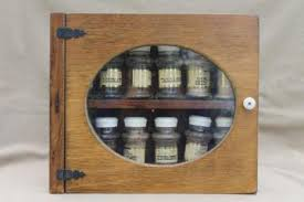 Antique Spice Rack Pantry Storage Canisters U0026 Spice Jars