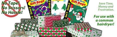 christmas wrap bags shrink wrap gift bags