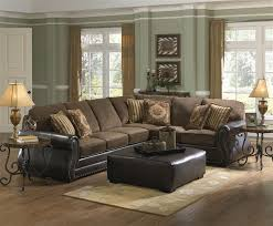 Austin Sectional In Two Tone Brown Fabric By Jackson Furniture - Sofa austin 2