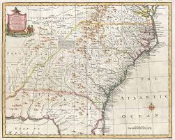Map Of Tennessee And North Carolina by Royal Colonial Boundary Of 1665 Wikipedia