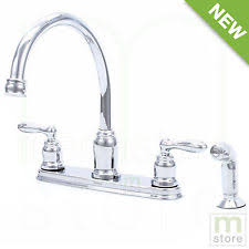 two handle kitchen faucets moen kitchen faucets with 2 handles ebay