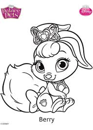 palace pets berry coloring free printable coloring pages