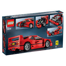lego honda civic lego ferrari f40 is a pile of bricks