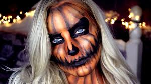 Youtube Halloween Makeup by Halloween Pumpkin Makeup Tutorial Youtube