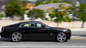 roll royce side rolls royce wraith review autoevolution