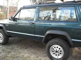 2001 Jeep Cherokee Sport Interior 1996 Jeep Cherokee Sport 2 Door Manual 4 0 3 Inch Lift Youtube