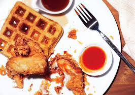 buttermilk fried chicken and sweet potato waffles keeprecipes