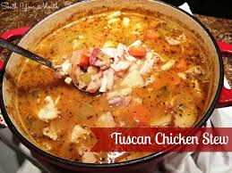 south your mouth tuscan chicken stew