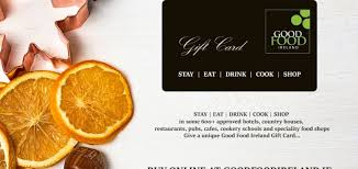 corporate gift card give a food ireland gift card