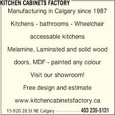 Kitchen Cabinet Doors Calgary Kitchen Cabinets Factory Calgary Ab 15 920 28 St Ne Canpages