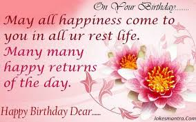 Happy Birthday Wishes To Sms Birthday Wishes Sms For Girlfriend In Hindi And English 140