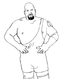 wwe coloring pages 16336