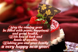 happy new year messages for family happy holidays